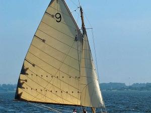 Tringa - eine von den Eignern selbstgebaute Replika eines Fife Clyde Risses