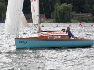 Latsch Segel: Fahrtensegel P-Boot