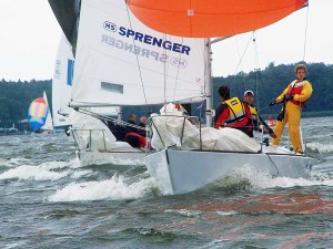 Latsch Segel in der J/24