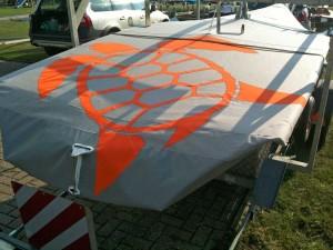 Latsch-Segel: Persenning 29er