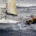 Vizeweltmeisterschaft der 505er vor Barbados mit Latsch Segeln