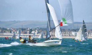 505 Junioren-Weltmeister mit Latsch Segeln